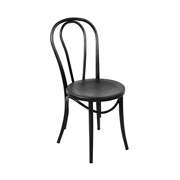 Thonet Side Chair in Black Finish - Set of 2
