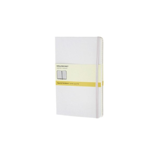 Moleskine White Large Square Notebook Ha
