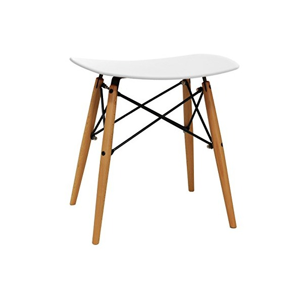 dar Living Vaarna Stool, White