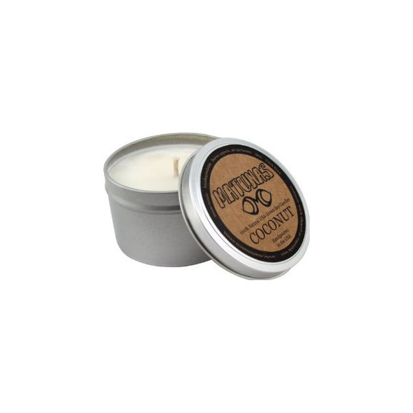 Matunas Soy Candle Tin - Coconut