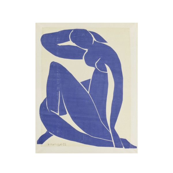Posters: Henri Matisse Poster Art Print Nude Blue III (32 x 24 inches)