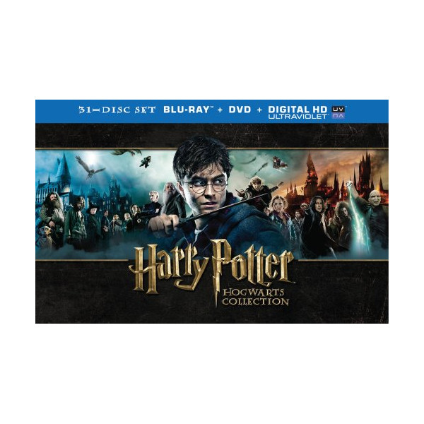 Harry Potter Hogwarts Collection (Blu-ray + DVD + UltraViolet)