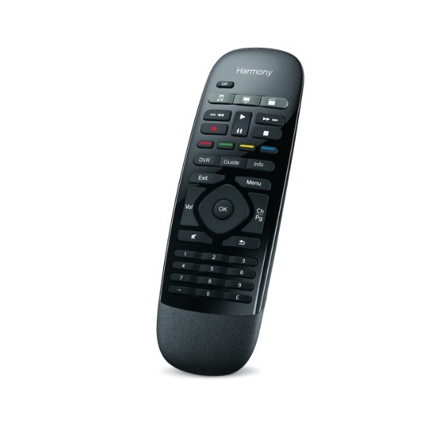 Logitech Harmony Smart Control with Smartphone App and Simple Remote - Black