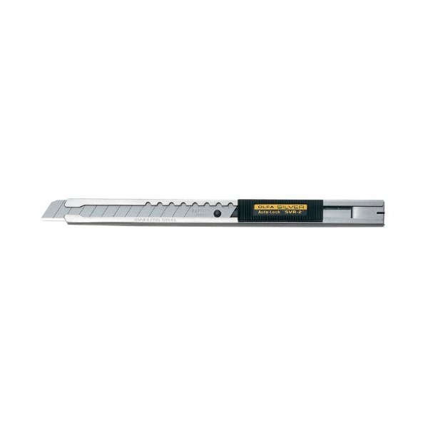 OLFA 5019 SVR-2 9mm Stainless Steel Auto-Lock Utility Knife