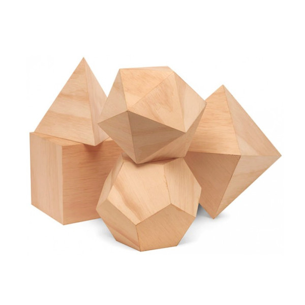 Japanese Polyhedron Blocks, Cypress