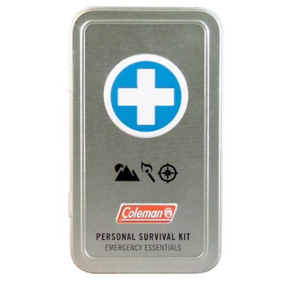 Coleman Personal Survival First Aid Tin (74-Piece), Metallic