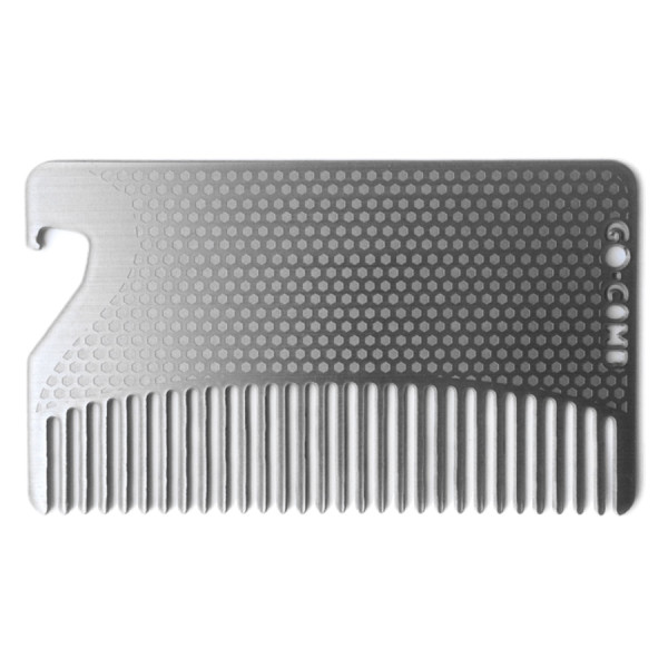 go-comb Bottle Opener Edition Premium Wallet Comb