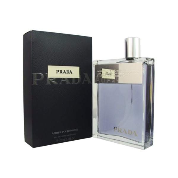 Prada cologne by Prada EDT spray 3.4 oz (Amber) for men.