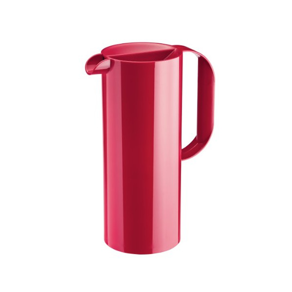 Koziol Rio Solid Raspberry Red Juice Pitcher, 100 by 164 by 249mm
