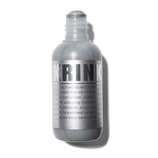 Krink K60 - Permanent Paint Marker, Supplied By Graff City, Chrome
