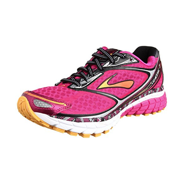Women's Brooks Ghost 7 Running Shoe Beetroot Purple/Black/Silver Size 6.5 M US