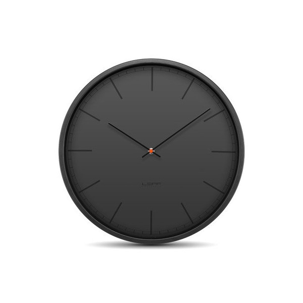 Tone35 Wall Clock Color: Black