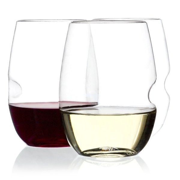 Govino Flexible Plastic Shatterproof Wine Glass, Set of 4