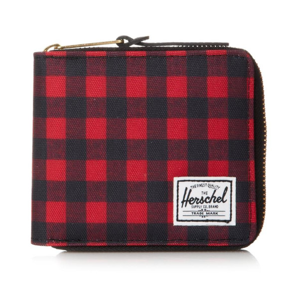 Herschel Supply Co. Men's Walt Wallet, Buffalo Plaid/Black