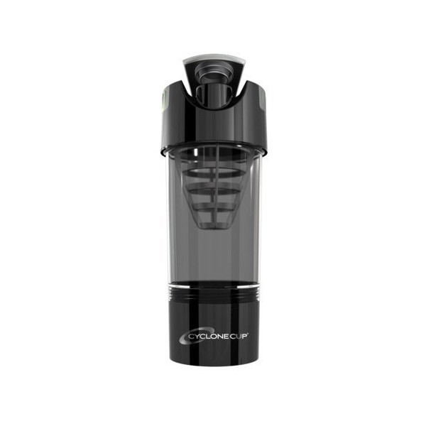 Cyclone Cup Shaker Bottle Black 20oz