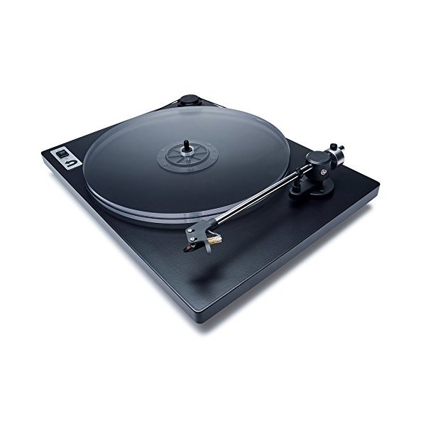 U-Turn Audio - Orbit Plus Turntable with built-in preamp (Black)