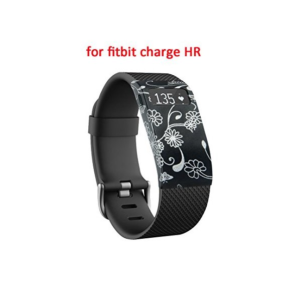DigiHero Band Cover for Fitbit Charge HR Silicone Fastener Ring Slim Designer Sleeve Protector accessories