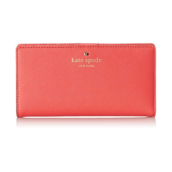 kate spade new york Cedar Street Stacy Bifold, Geranium, One Size