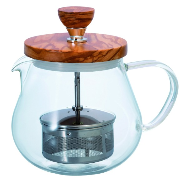 HARIO Tioru Wood Tea Kettle, 450ml