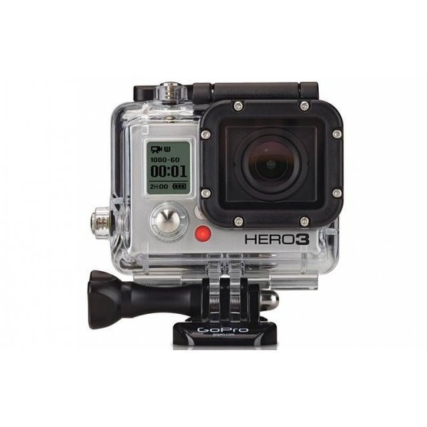 GoPro Hero3: White Edition, Waterproof Housing
