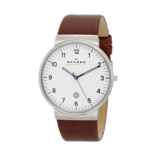 Skagen Men's SKW6082 Klassik Analog Display Analog Quartz Brown Watch