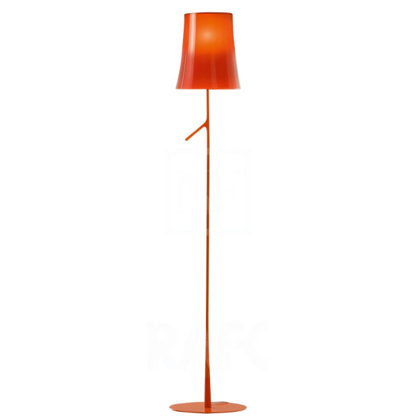 Birdie Floor Lamp, Orange