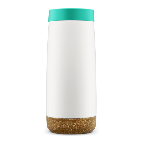 Ello Cole Vacuum-Insulated Stainless Steel Travel Mug, Teal, 18 oz