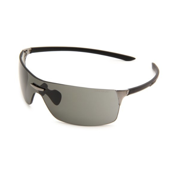 Tag Heuer Squadra Sport Sunglasses, Black Frame/Grey Lens, one size