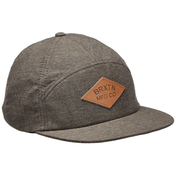 Brixton Men's Wharf Cap, Brown, One Size