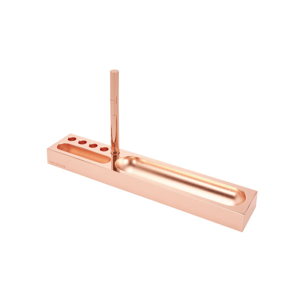 Tom Dixon Cube Desk Tidy, Copper