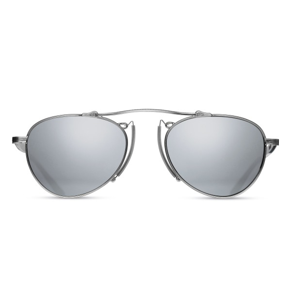 Matsuda M3036 Antique silver Small Aviator Sunglasses