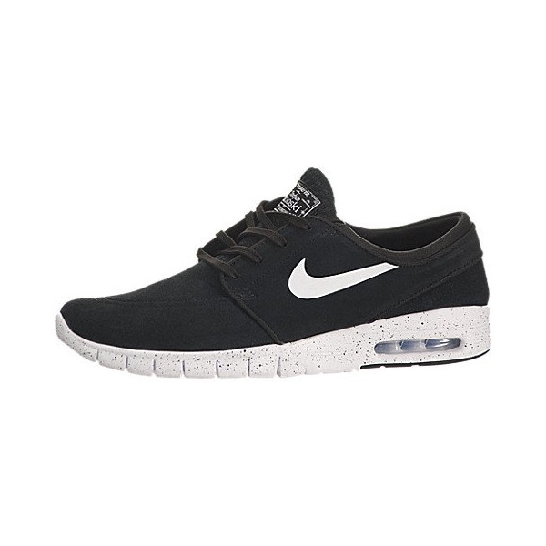 Nike Stefan Janoski Max L Men's Shoes - Black/White (7.5)