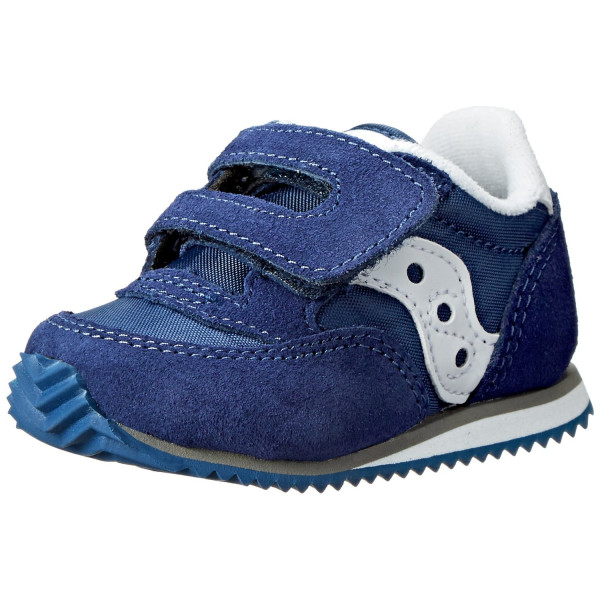 Saucony Boys Baby Jazz Crib Sneaker (Infant), Cobalt Blue, 1 M US Infant