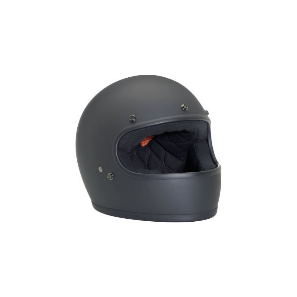 Large Flat Black Gringo Helmet by Biltwell, Inc.