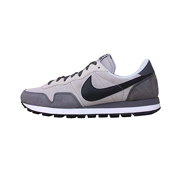 Nike Men's Air Pegasus 83 Ltr Wolf Grey/Black/Drk Gry/Cl Gry Running Shoe 10 Men US