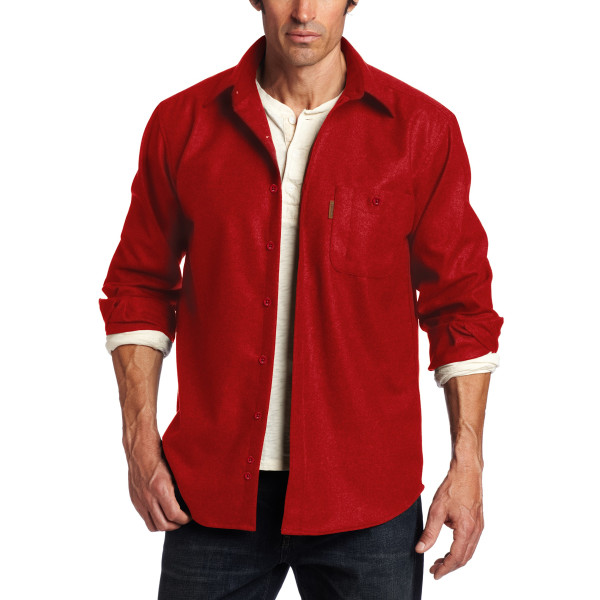 Pendleton Men's Trail Shirt, Red
