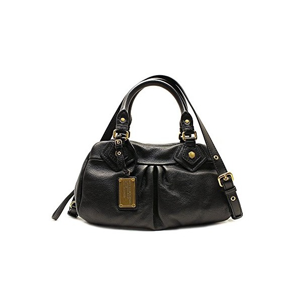 Marc by Marc Jacobs Classic Q Baby Groovee Satchel Black One Size