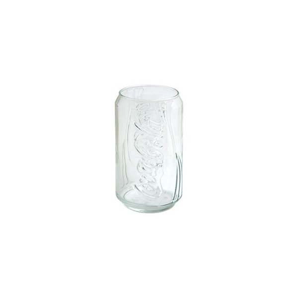 Coca-Cola Can-Shaped Beverage Glass, 12 oz.