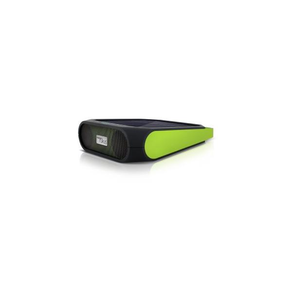 Eton Rugged Rukus All-Terrain Portable Solar Wireless Sound System (Green)