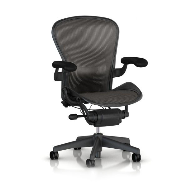 Herman Miller Aeron Tilt Limiter Task Chair, Medium