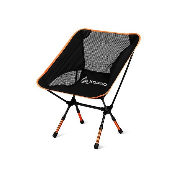 Camping Chairs - Ultra Light Camp Chair By XOPRO - Heavy Duty Foldable Hiking Stool