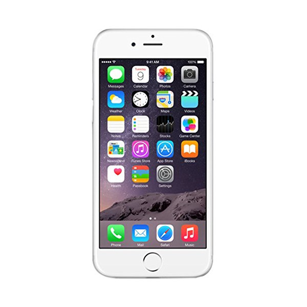 Apple iPhone 6 16GB silver, MG482ZD_A