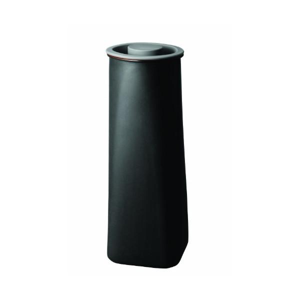 JIA Inc Abundance Purple Clay Airtight Canister, Extra Large