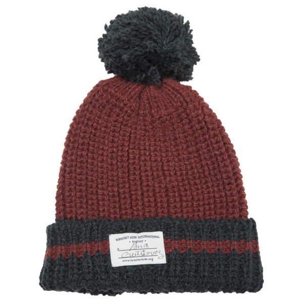 Krochet Kids Rainier Knit Hat With Pom