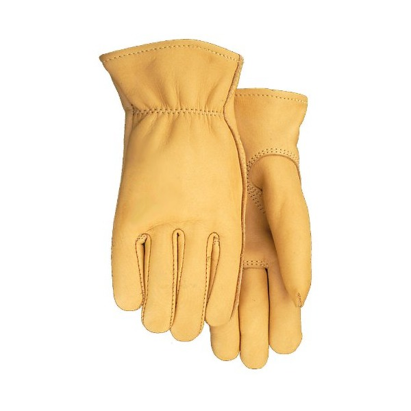Midwest Gloves and Gear 850-XL, Genuine Smooth Grain Deerskin Gloves,  USA Made, Extra Large