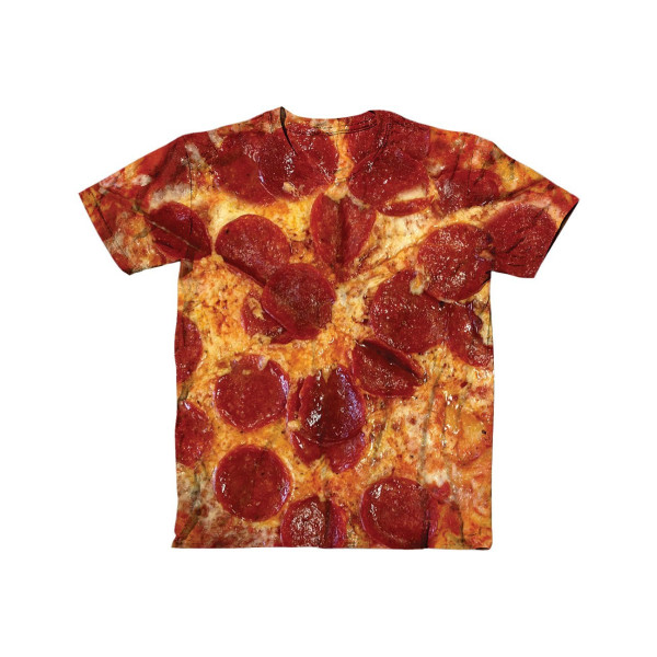 Pizza Lovers Get Ready To Take A Bite Out This Realistic Looking T-Shirt