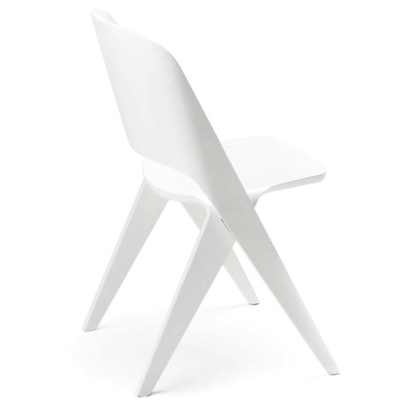Lavitta Molded Plywood Chair - White Stained Birch
