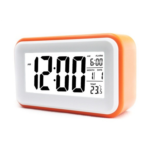 "HITO 6"" Alarm Clock w/ Date and Temperature Display"