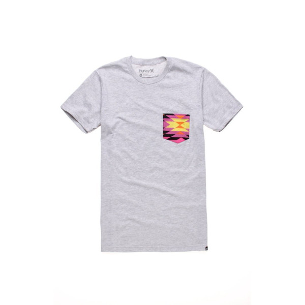 Hurley Mens Aztec Pocket Tee