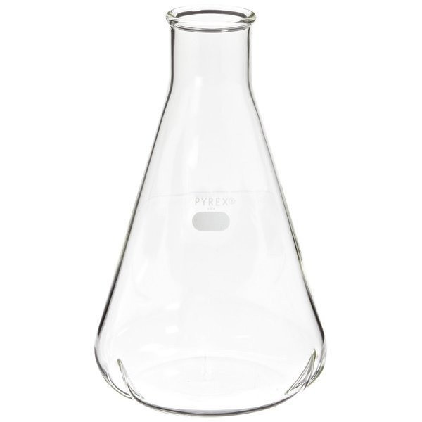 Pyrex 1L Narrow Mouth Erlenmeyer Flask
